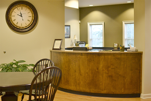Front Desk at Keowee